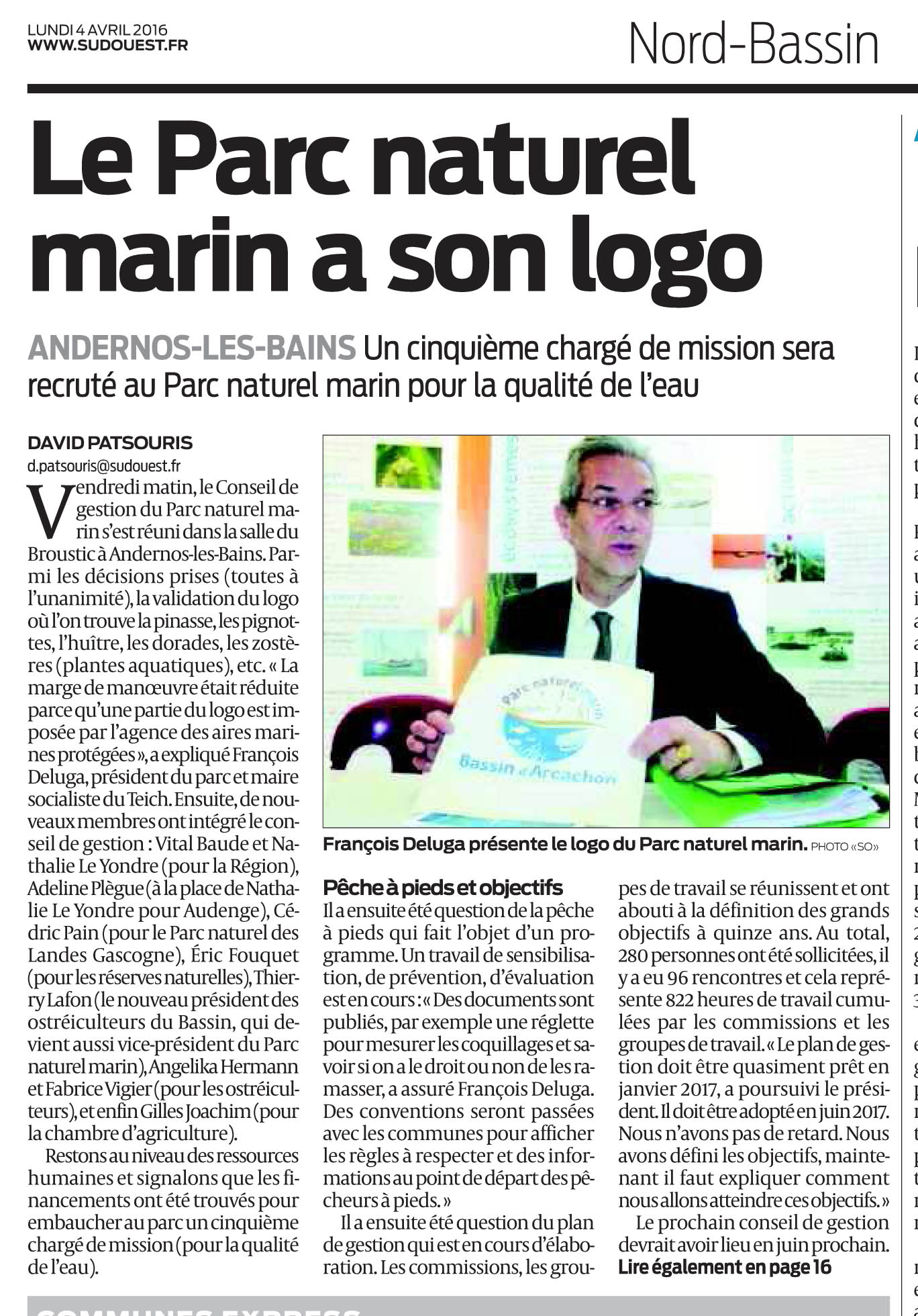 sud ouest 04 avril 2016 pnm